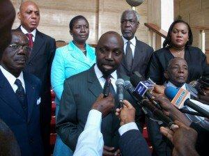 Francis Wodié (Pdt du Conseil constitutionnel) : Législatives, Des scrutins seront repris  dans Culture conseil-constitutionnel-ci-300x224